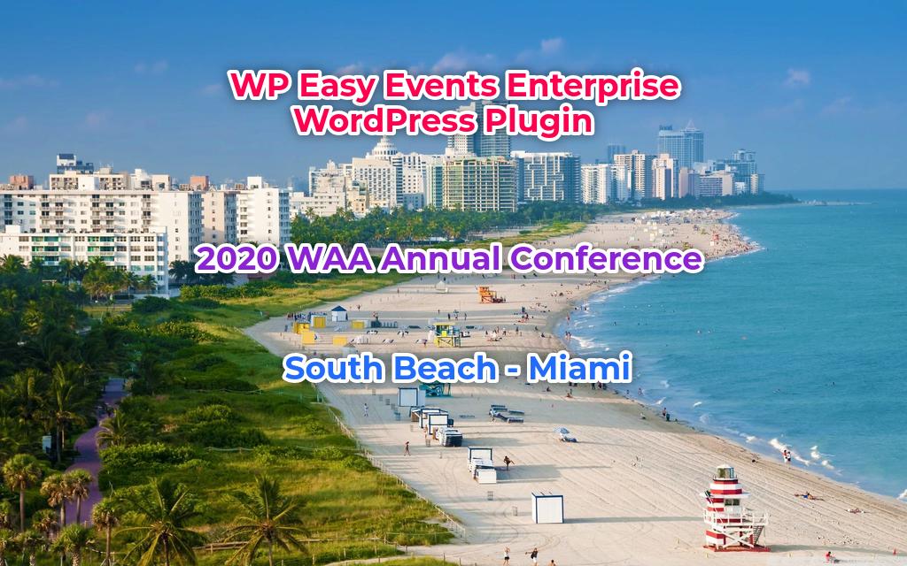 WP_Easy_Events_Enterprise_WordPress_Plugin Demo Conference Setup